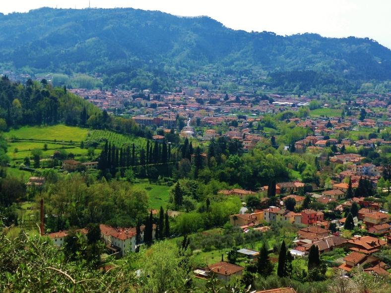 View fron Casoli, Tuscany, Italy