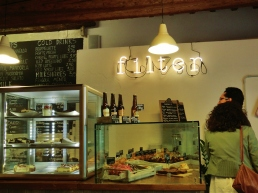 Filter Coffee House, Central Pisa, Along The North West Tuscan Way by Martin Cooney