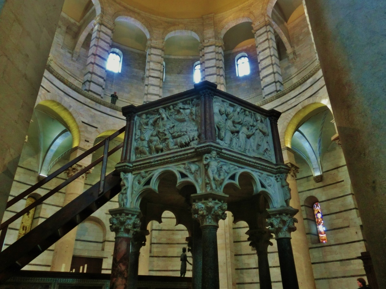 Baptistery, The Place of Miracles, Pisa, Italy