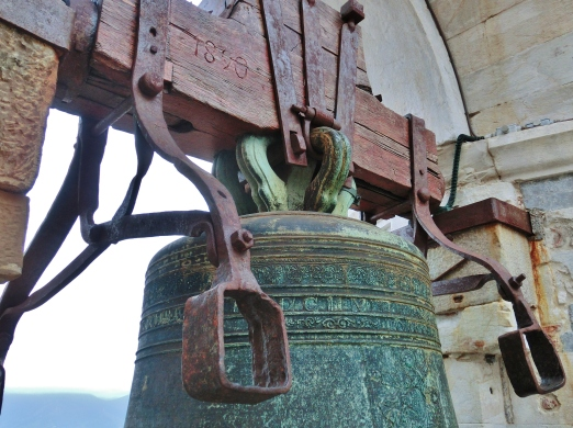 Giant Hand Bell The Leaning Tower of Pisa, Italy, on the North West Tuscan Way by Martin Cooney