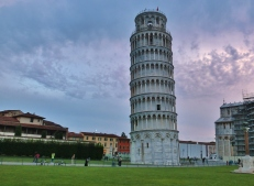 Once Around The Leaning Tower of Pisa, Italy, on the North West Tuscan Way by Martin Cooney