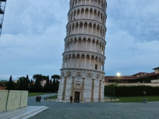 The Leaning Tower of Pisa, Italy, on the North West Tuscan Way by Martin Cooney