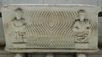 The Sarcophagi, Camposanto, Pisa, Tuscany, Italy