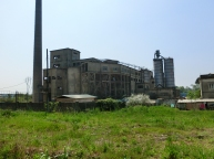 Old Processing Plant, Carrara Marble Industry, Tuscany, Italy