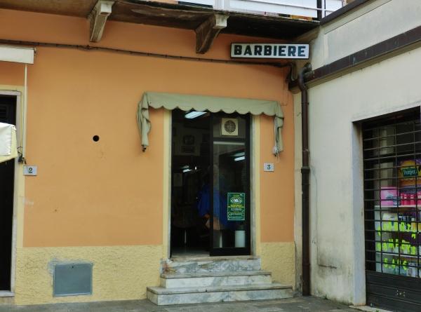 Barbershop, Pietrasanta, Tuscany, Italy