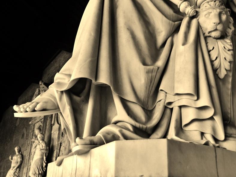 The Statuary, Camposanto, Pisa, Tuscany, Italy