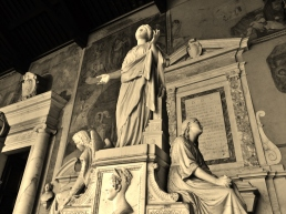 The Statuary, Camposanto, Pisa, Tuscany, Italy