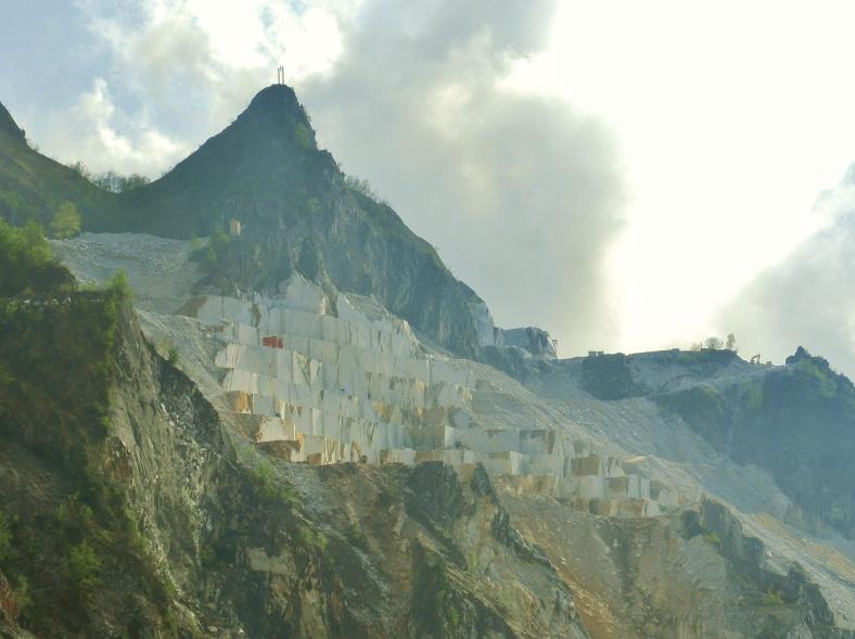 Cararra Marble Quarry, Tuscany, Italy