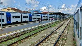 Italian Trains, Tuscany, Italy