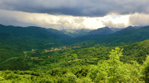 Lunigiana and Surrounding Mountains, Tuscany, Italy