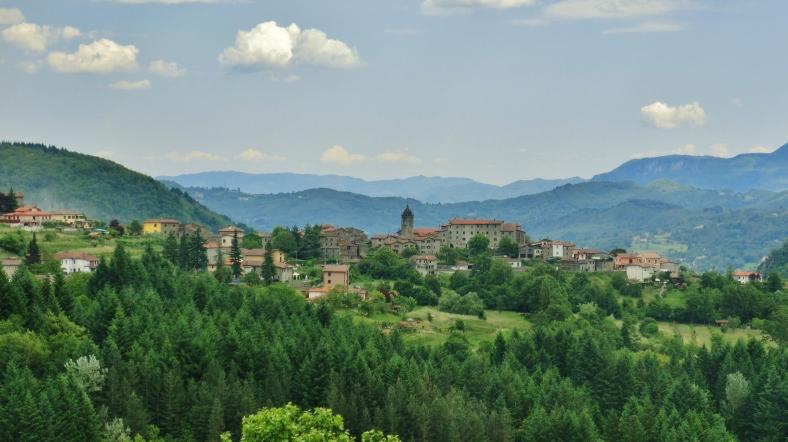Serchio Valley, Garfagnana, Tuscany, Italy