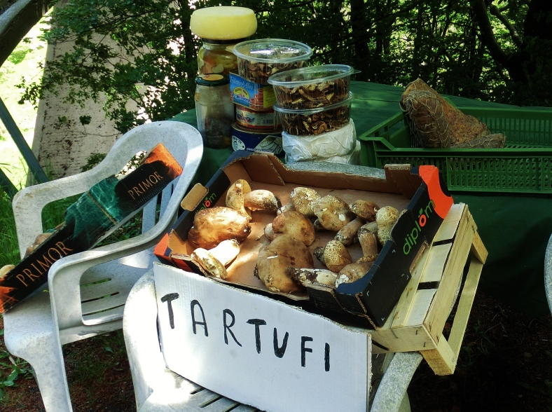 Truffles, Tartufi, for sale, Roadside Attractions, Lunigiana, Tuscany, Italy
