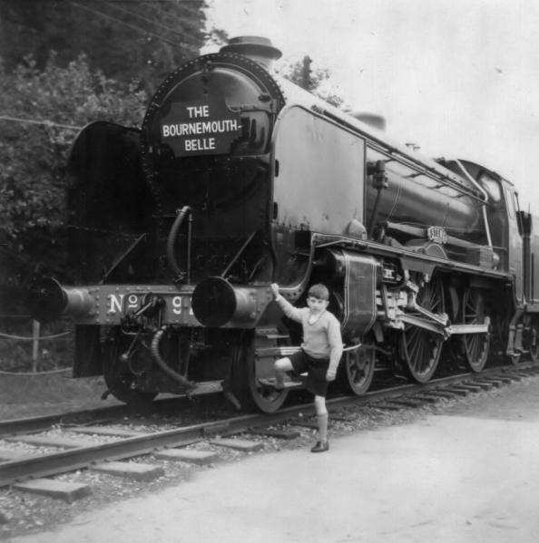 The Boy Who Loved Trains. This is the lad who rode the train across England, navigated the London Underground, and arrived at Winchester on his own.