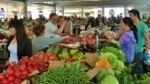 Marketplace in La Spezia, Italy