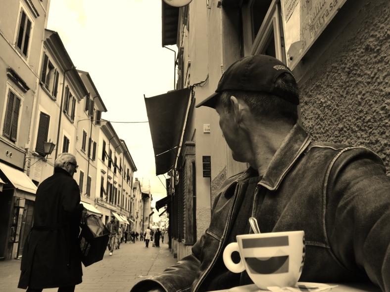 Martin Cooney, Espresso in Pietrasanta, Italy