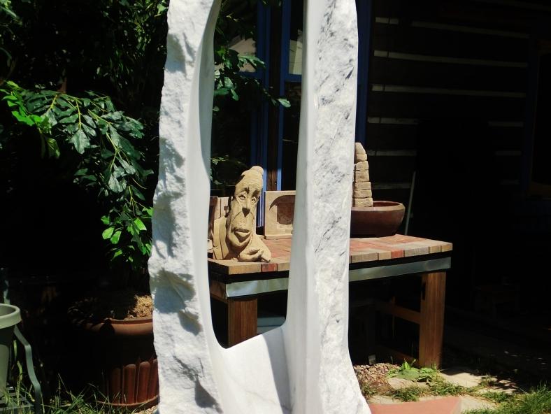 studio: Oblique Projection, Boogieman, sculpture garden