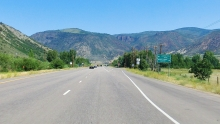 marketplace, Roaring Fork valley, Highway 82, CO USA