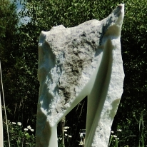 'Wolf Man Jack', Colorado Yule Marble, 1314 Winter Collection by MARTIN COONEY
