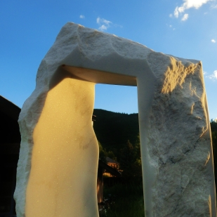'Oblique Perspective;, 1314 Winter Collection, Colorado Yule Marble by MARTIN COONEY