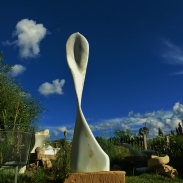 'Maypole;, 1314 Winter Collection, Colorado Yule Marble by MARTIN COONEY