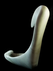 'Birth of a Guin', 1314 Winter Collection, Colorado Yule Marble Sculpture by MARTIN COONEY