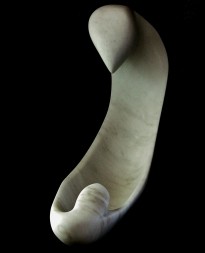 'Birth of a Guin', 1314 Winter Collection, Colorado Yule Marble Sculture by MARTIN COONEY