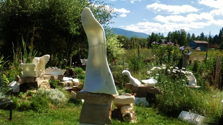 Colorado Yule Marble: 'Pilgrim' steps into the Standing Stone Circle