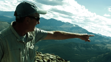 Martin Cooney, Galena Mountain, Two day hikes from Uncle Bud's Hut, Late September, Colorado, 2014