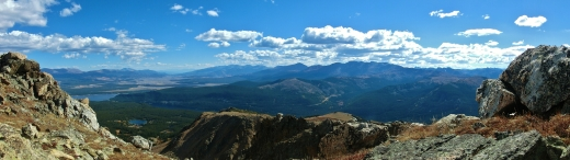 Galena Mountain, Two day hikes from Uncle Bud's Hut, Late September, Colorado, 2014