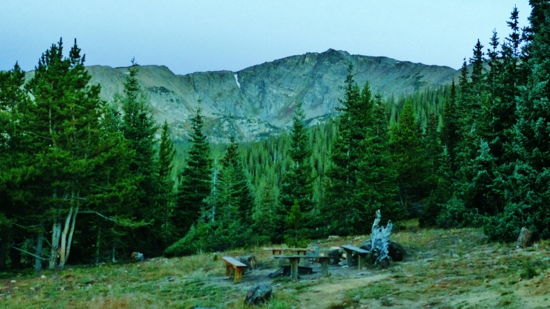 Galena, a day hike from Uncle Bud's Hut, Late September, Colorado, 2014