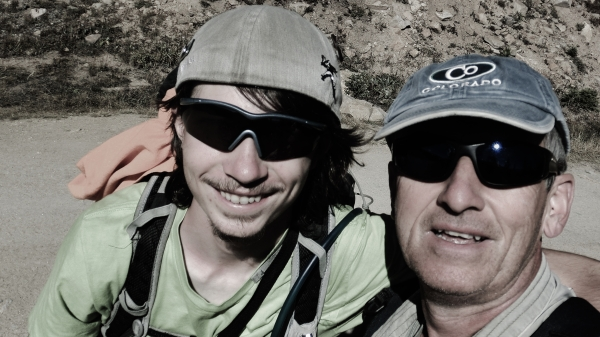 Joseph and Martin Cooney, Hagerman Pass Road, Colorado, Late September 2014