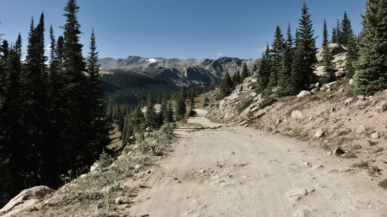 Hagerman Pass Road, Colorado, Late September 2014
