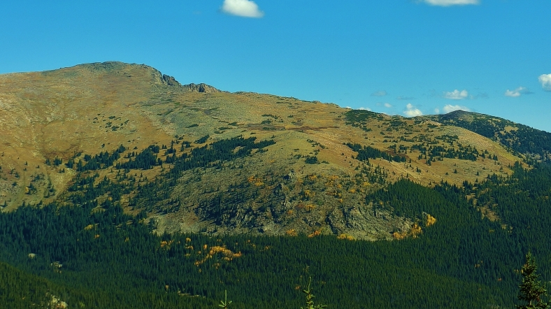 View of Mt. Galena, Hagerman Pass Road, Colorado, Late September 2014