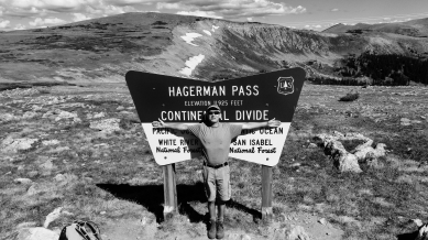 Martin Cooney, Hagerman Pass Road, Colorado, Late September 2014