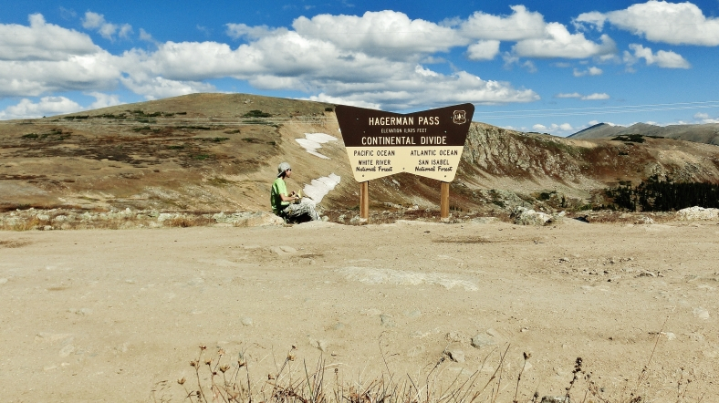 Joseph Cooney, Hagerman Pass Road, Colorado, Late September 2014