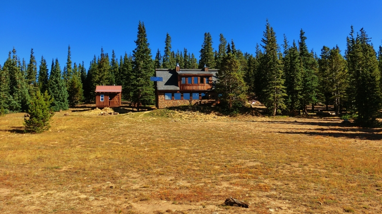 Uncle Bud's Hut, Late September, Colorado, 2014