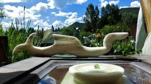 'Nessie', Colorado Yule Marble Sculpture by Martin Cooney