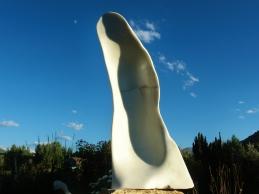 'Pilgrim', Marble Sculpture by Martin Cooney