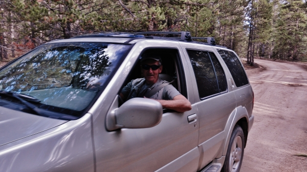 Martin Cooney, outside Leadville CO 2014, Late September
