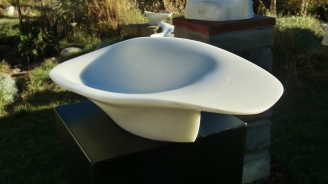 'San Rocchino' Hand carved Marble Bowl by Martin Cooney