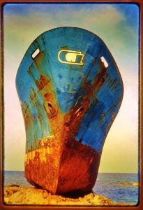 beached-boat-gemari-karpathos-greece