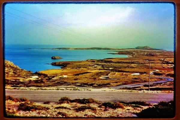 Shipwreck, Karpathos, Greece, 1988, photo Martin Cooney