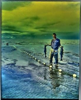 Martin Cooney, author, martincooney.com commercial salmon fishing in Alaska, 1983