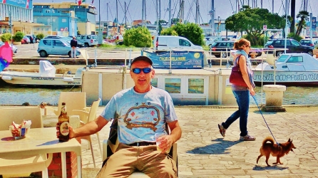 Martin Cooney, Viareggio Pier, Tuscany, Rogue Carver on the Loose in Italy