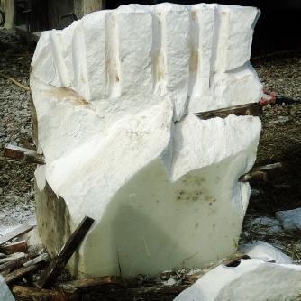 Curvilinear Campfire rough block
