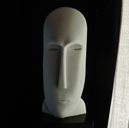 'Salt of the Earth' Sculpted Marble Mask by MARTIN COONEY