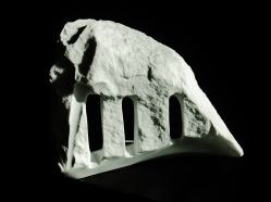 'Troglodyte Cloister', Colorado Yule Marble Sculpture by MARTIN COONEY