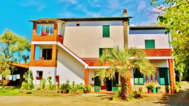 Da Pio B&B, Postcard From Pietrasanta. Snapped by MARTIN COONEY