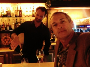 Martin Cooney, Author martincooney.com, Stefano, Bar Avio, Pietrasanta, North West Tuscany, April 2014