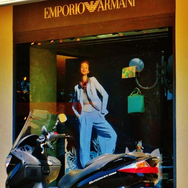 Window Shopping in Forte dei Marmi by MARTIN COONEY